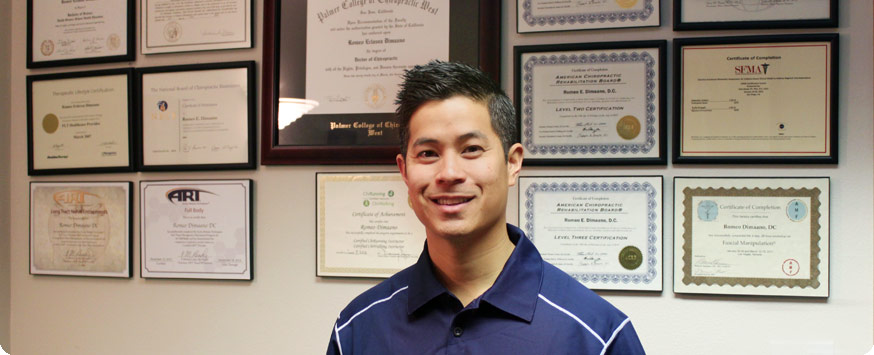 Dr. Romeo Dimaano at Active spine and sport care camarillo